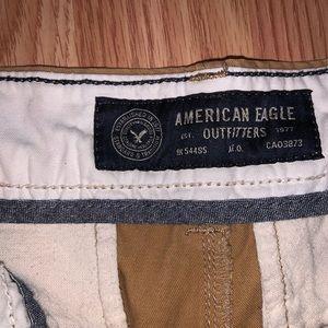 American Eagle Brown Khaki Pants